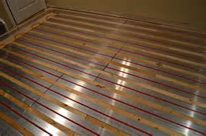 radiant floor heating my brain lounge