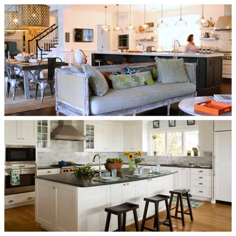 Home Staging And Decorating Great Room Vs Separate Kitchen And Family Room