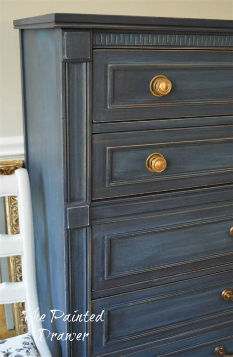 A Set In Coastal Blue The Painted Drawerthe Painted Drawer