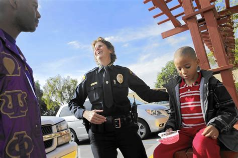 San Diego Officer by San Diego Chief Gives A In Reform