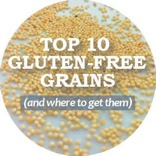 does whole wheat have gluten list of gluten free whole grains and where to buy them
