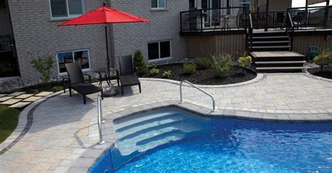 Patio Pavers Olathe Ks Patio Pavers To Complement Your Poolside In Overland Park