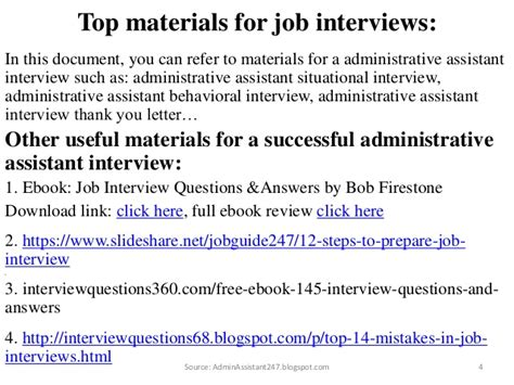 82 administrative assistant questions and answers