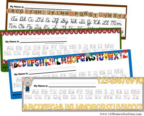 printable desk numbers free alphabet desk chart