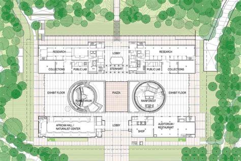 california academy of sciences floor plan renzo piano s california academy of science