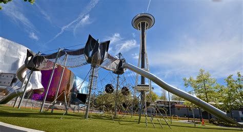 Seattle for Kids: Artists at Play Playground at Seattle Center