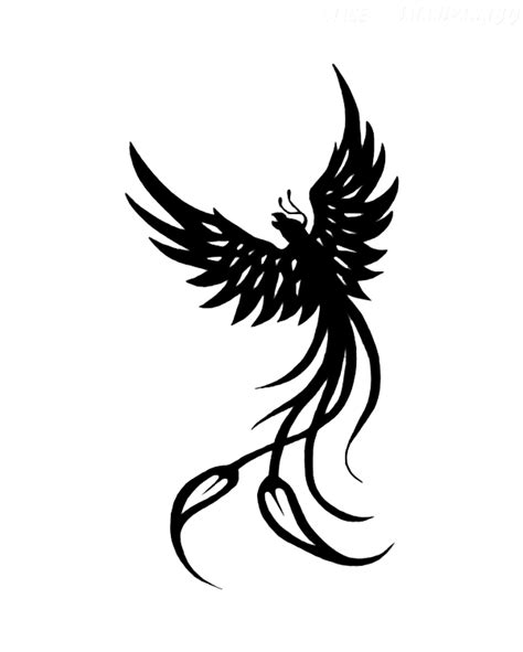 tattoo bird png phoenix tattoos png transparent images png all