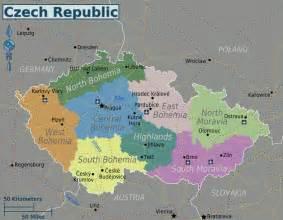 Prague World Map by Map Of Czech Republic Regions Worldofmaps Net Online