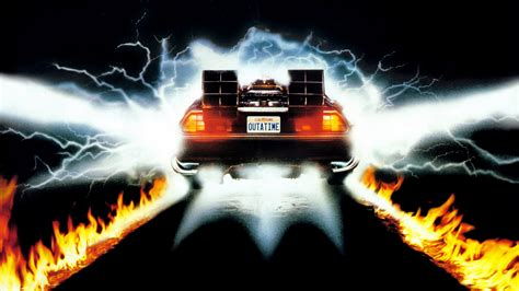 what year is the delorean from back to the future back to the future the musical headed to then