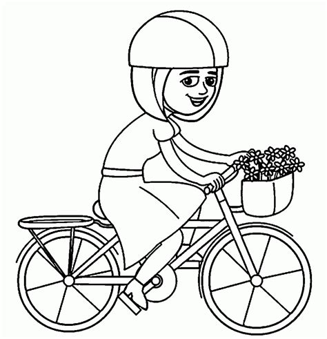 barbie bike coloring page sport bike coloring page bike coloring page barbie bike