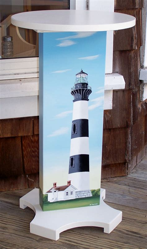 Lighthouse Furniture by Coastal Cottage Nautical Lighthouse Painted