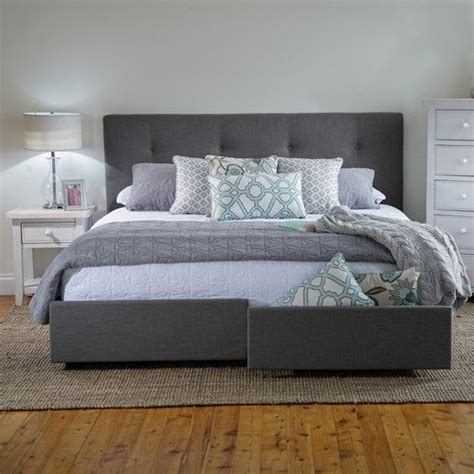 King Storage Bed Frame With Drawers King Bed Frame Migusbox