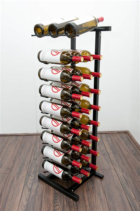 wine cabinets for sale point of purchase display rack 27 bottle vintageview