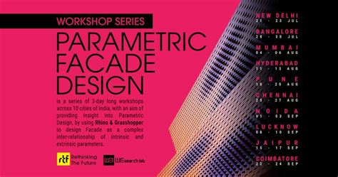 parametric facade design workshop aasarchitecture