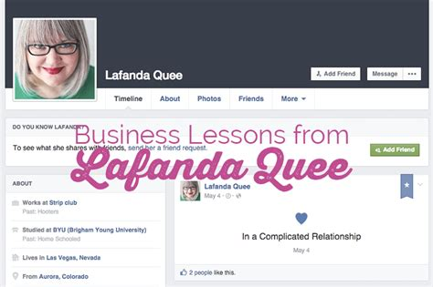 Lessons Learned About Businesses by The Business Lesson Learned From Lafanda Quee