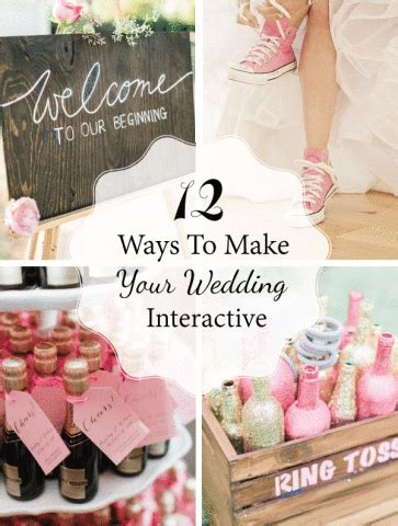Wedding Reception Activities by 12 Ways To Make Your Wedding Interactive Linentablecloth