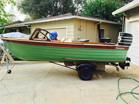 runabout boat photos thompson runabout boat for sale from usa