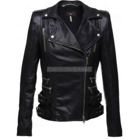 Handmade Jackets - handmade black leather jacket black