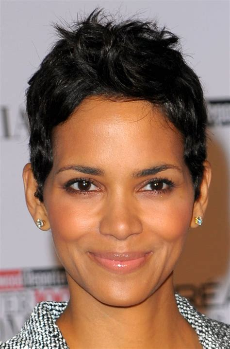 halle berry short pixie wig equal ombre color synthetic wig galaxy from ebonic hair