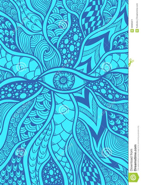 how to create a zen doodle zen doodle or zen tangle texture or pattern with eye in