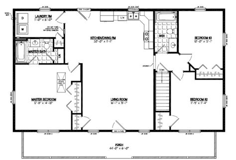 28x48 floor plans certified homes musketeer certified home floor plans