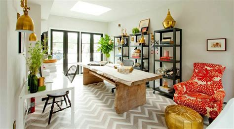 genevieve gorder s office living room and decorating
