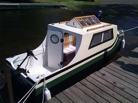Jon Boat With Cabin by Jon Boat Cuddy Glen L