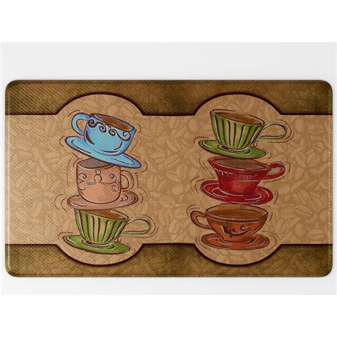 Coffee Kitchen Mat by Art3d Premium Reversible Memory Foam 18 Quot X 30 Quot Anti