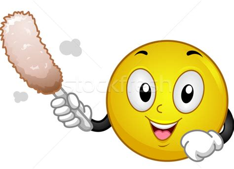 cleaning emoji cleaning smiley vector illustration 169 lenm 4817225
