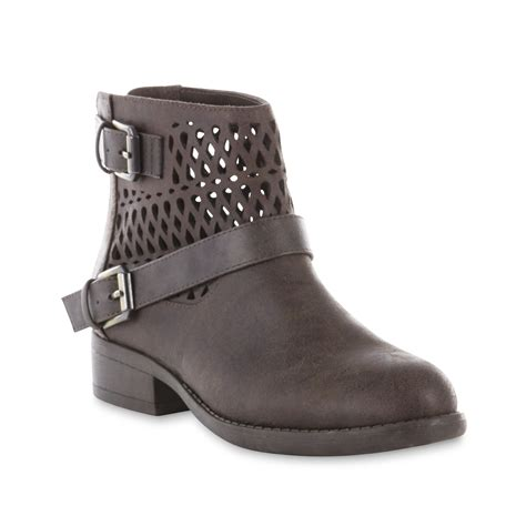 route 66 boots route 66 s rosalinda brown ankle bootie shoes