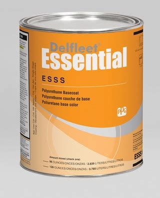 ppg industries defleet essential basecoat in chemicals