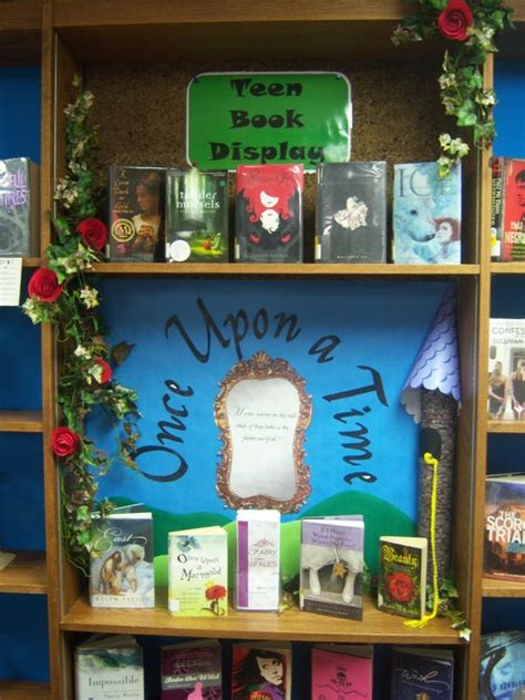 books for display fairy tales teen book display teen book displays