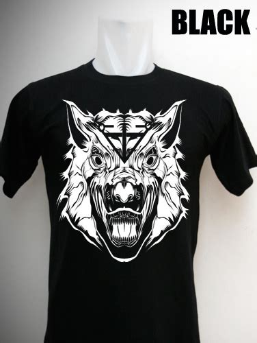 Tshirt Kaos Baju Hardrock King Clothing altavia wolf altavia merch cloth