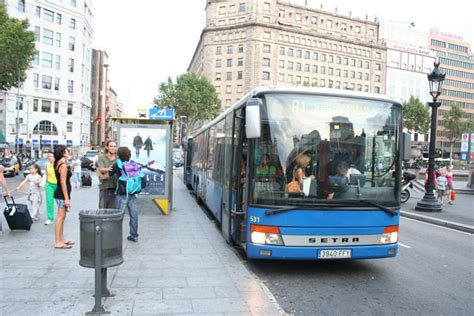 barcelona airport to city centre bus from barcelona airport to city center spain joao