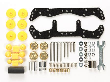 Tamiya Stabilizing Plates No 15064 basic tune up parts set for ma chassis