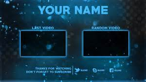 Outro Template by 2d Outro Template Psd Photoshop New 2016
