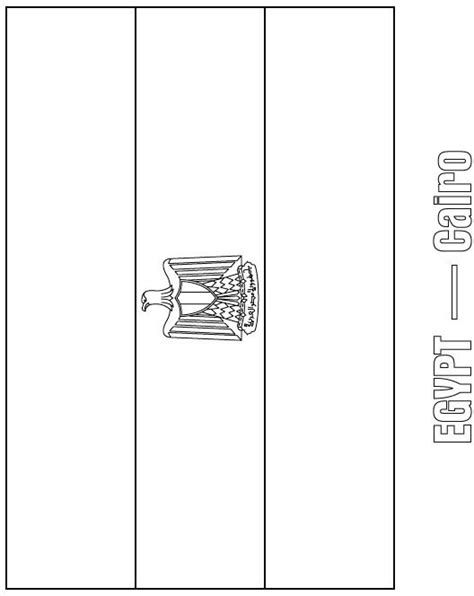 coloring page egypt flag egypt flag coloring page download free egypt flag