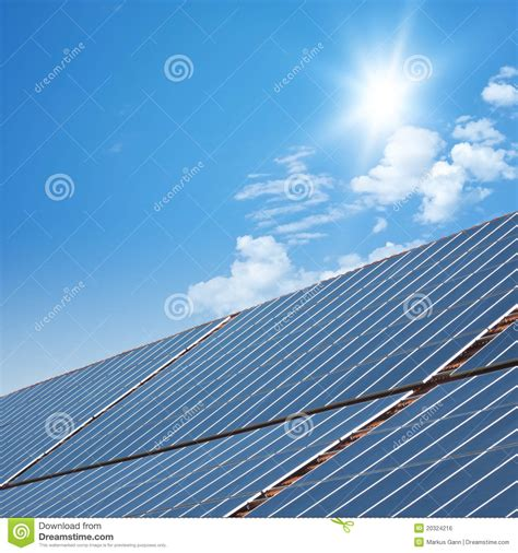 solar panels royalty free stock image image 20324216