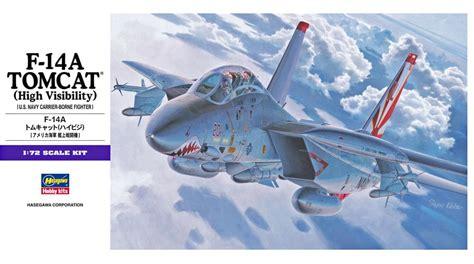 Hasegawa 1 72 E3 F 14a Tomcat High Visibility hasegawa 1 72 f 14a tomcat high visibility