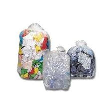 Bin Bag by Clear Bin Bags Heavy Duty 130 32 50 Micron