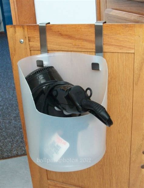 how to hang hair dryer in bathroom 15 ways to organize under the bathroom sink