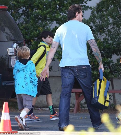 And Dean Out With Liam by Dean Mcdermott Takes Liam To School After Distressed