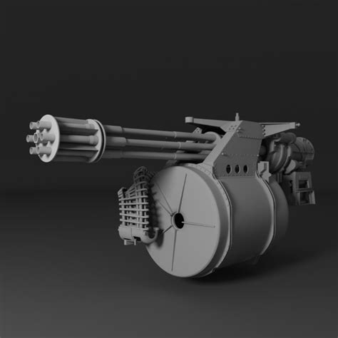 Kaos 3d Gafting Gun 3d m61 vulcan
