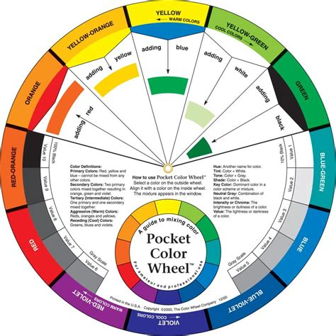 color wheel theory makeup mugeek vidalondon