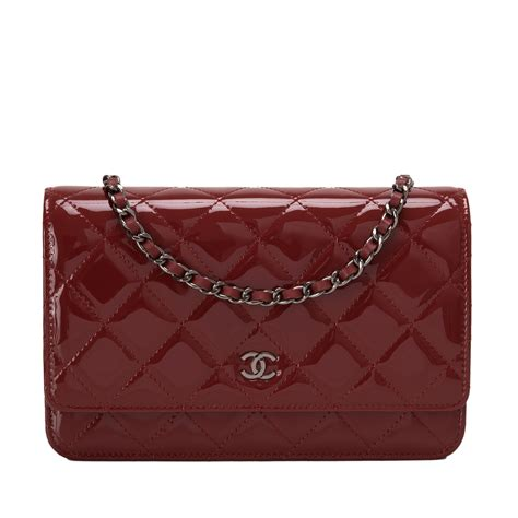Sale Tas Wanita Lv Classic Woc chanel classic quilted patent wallet on chain woc world s best