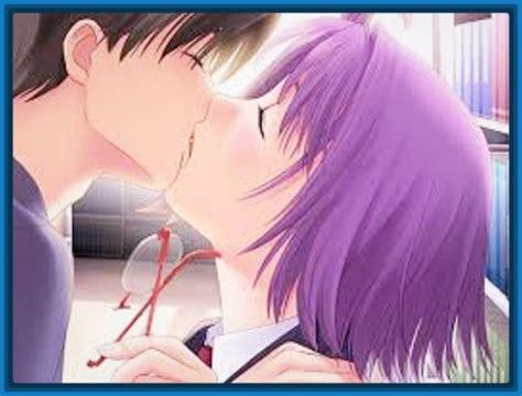 imagenes con movimiento de amor anime imagenes de anime de enamorados con frases de amor