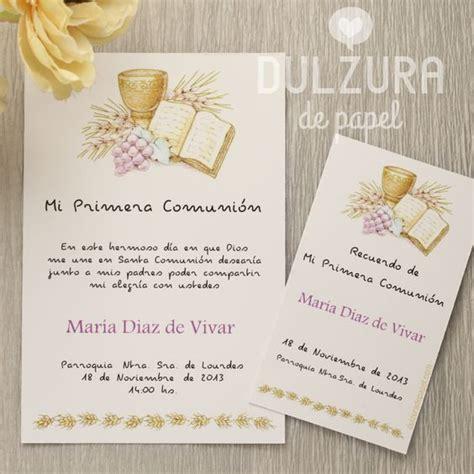 invitacion de primera comunion dibujo invitaciones primera comuni 243 n para imprimir todos los