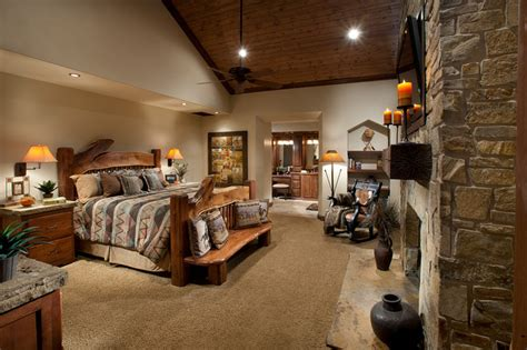 rustic bedroom suites northern exposure master suite rustic bedroom