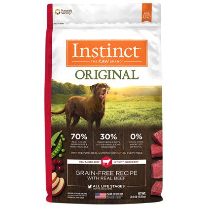 nature s variety food nature s variety instinct beef food 1800petmeds