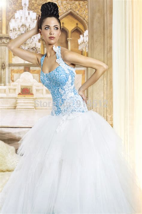 White And Blue Wedding Dresses by White And Blue Wedding Dresses 2014 Www Pixshark